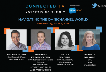 2021 Connected TV Advertising Summit with Danielle DeLauro