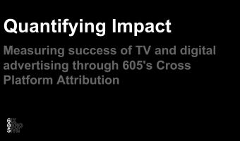 Quantifying Impact: